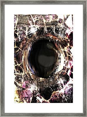 Infinite Depth Of Dreamers Eye Framed Print by Shawna Cheatham
