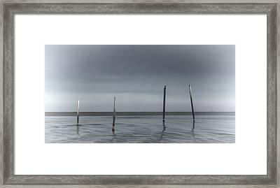 Infinite Gaze Framed Print by Stellina Giannitsi