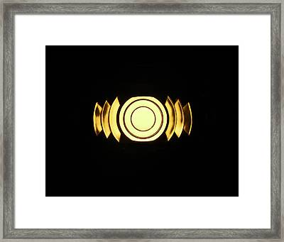 Infinite Gold By Jan Marvin Framed Print