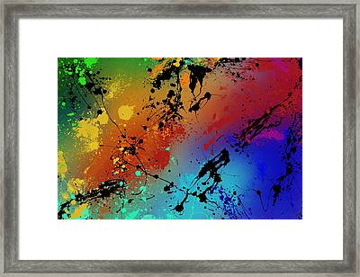 Infinite M Framed Print