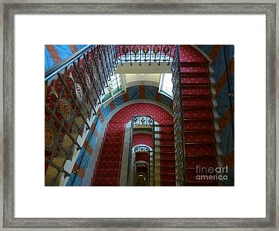 Framed Print featuring the photograph Infinite Recursion by Deborah Smolinske