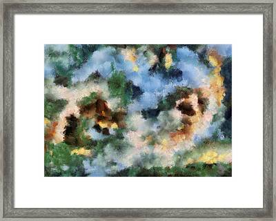 Infinite Space Framed Print by Georgi Dimitrov