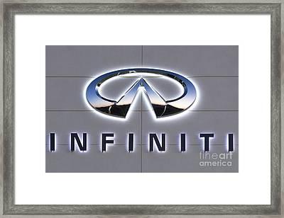 Infiniti Framed Print