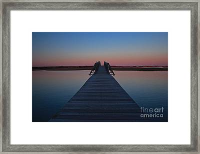 Infinity Framed Print by Amazing Jules
