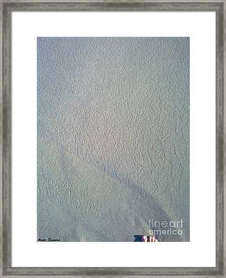 Framed Print featuring the photograph Infinity By Foot by Ramona Matei