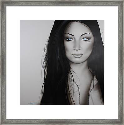 Portrait - ' Infinity ' Framed Print