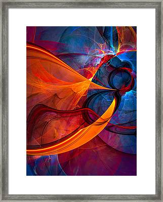 Infinity - Abstract Art Framed Print