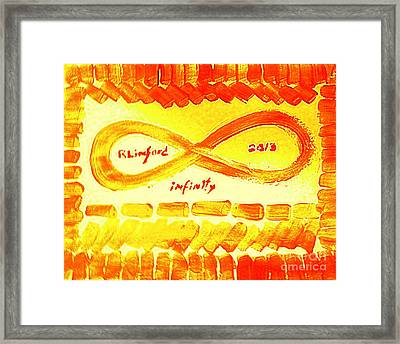 Infinity Infiniti Alpha Omega Beginning And End 1 Framed Print
