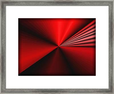 Infinity Framed Print by Kristin Elmquist