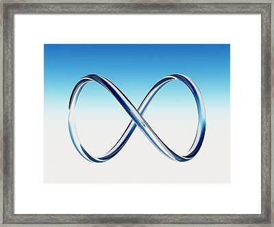 Infinity Loop Framed Print by Tim Vernon