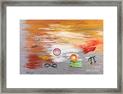 Infinity Framed Print by Loredana Messina