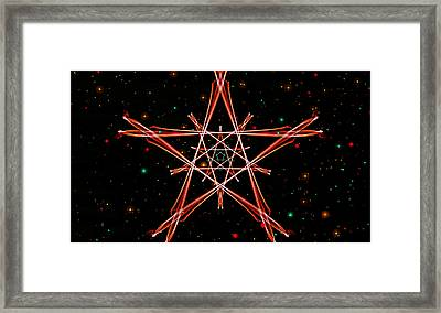 Infinity Of Human Nature Framed Print