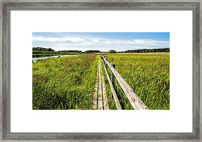 Infinity Way Framed Print by Leif Sohlman