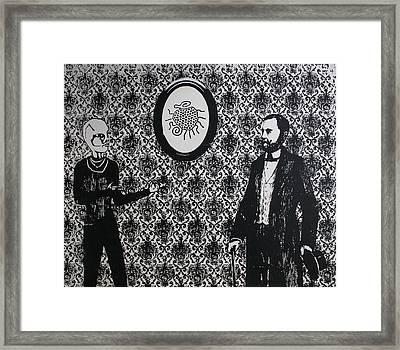 Informant Framed Print by Jeremy Johnson