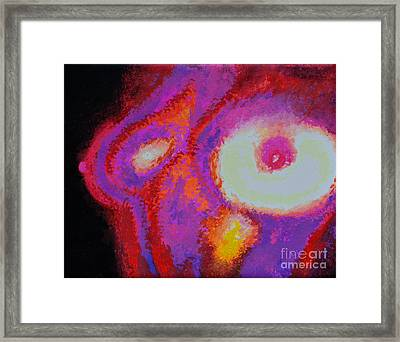 Infrared Framed Print by Alys Caviness-Gober
