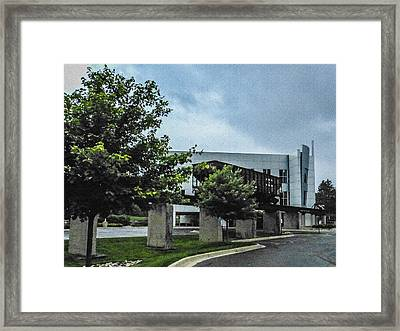Infrastructure As Decoration Framed Print