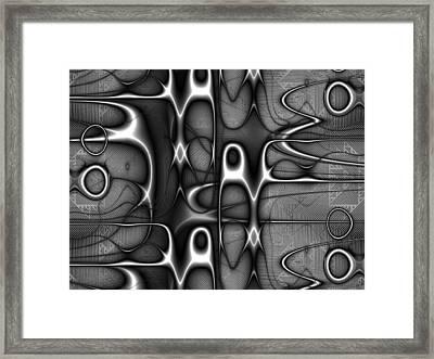 Infrastructure Framed Print