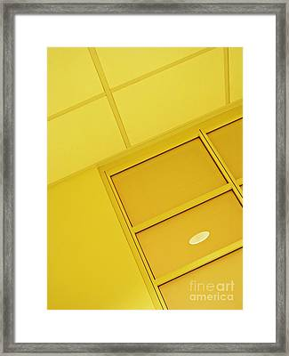 Infusion Suite Wall 2 Framed Print by Sarah Loft