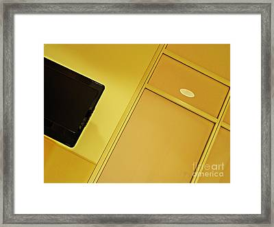 Infusion Suite Wall Framed Print by Sarah Loft