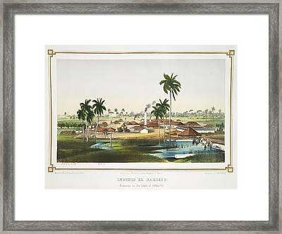 Ingenio El Narciso Framed Print by British Library
