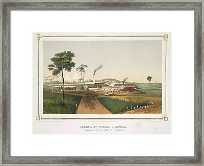 Ingenio Santa Teresa Aguica Framed Print by British Library