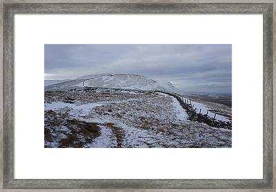 Ingleborough Framed Print by Riley Handforth