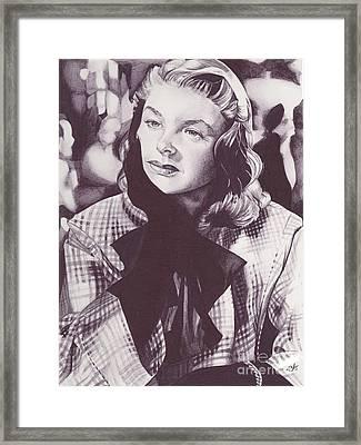 Ingrid Bergman Framed Print by J Windland