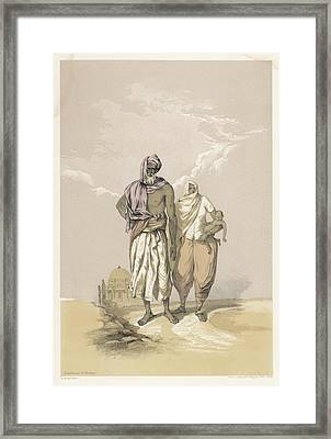 Inhabitants Of Mooltan (aka  Multan) - Framed Print by Mary Evans Picture Library