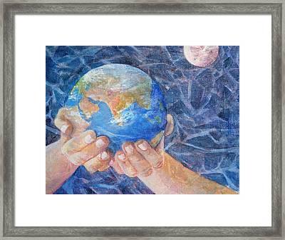 Inherit The Earth Framed Print