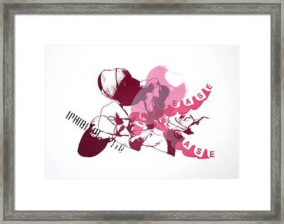 Inhibited Love Release Framed Print