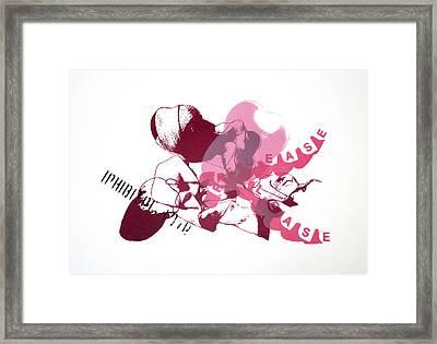 Inhibited Love Release Framed Print by Ingrid Van Amsterdam