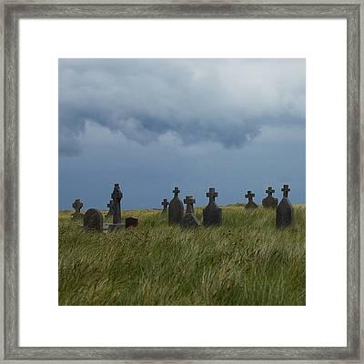 Inishmore, Ireland #ireland #instagood Framed Print
