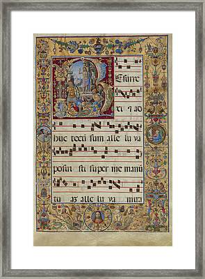 Initial R The Resurrection Antonio Da Monza, Italian Framed Print