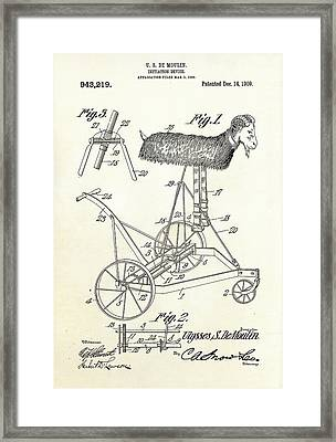 Initiation Device Patent Framed Print by Us Patent And Trademark Office