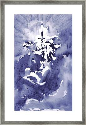 Initiation Framed Print by Yuri Lushnichenko