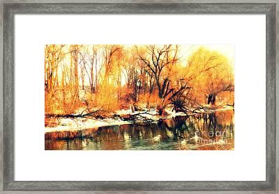Inizio Inverno Framed Print by Halina Nechyporuk