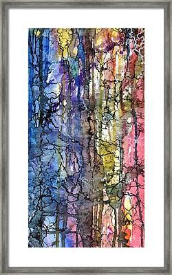 Ink Lines Framed Print