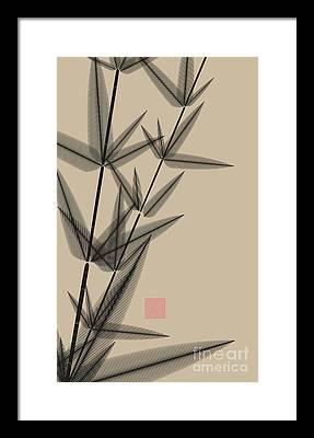 Chinese Brush Framed Prints
