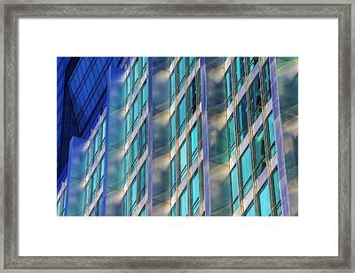 Inland Steel Building Framed Print