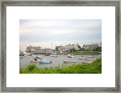 Framed Print featuring the photograph Inlet At Harwich Cape Cod Maine by Suzanne Powers