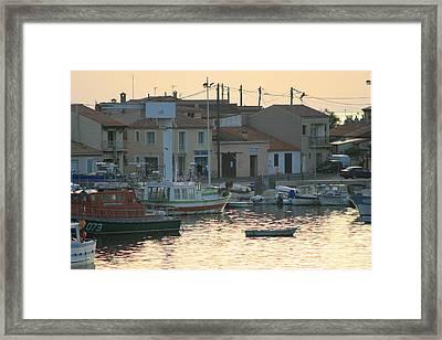 Inlet Carol South France Framed Print