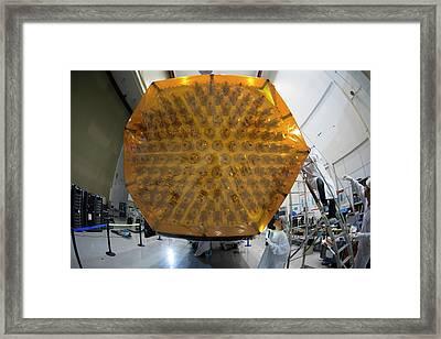 Inmarsat Satellite Testing Framed Print by Esa - S. Corvaja