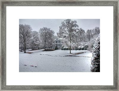 Inn At Craig Farm Framed Print