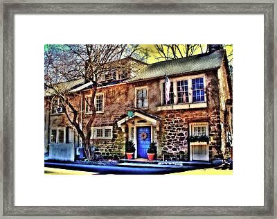 Inn At  Phillips Mill  Framed Print by Rick Todaro