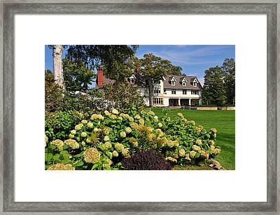 Inn At Stonecliffe On Mackinac Island Framed Print