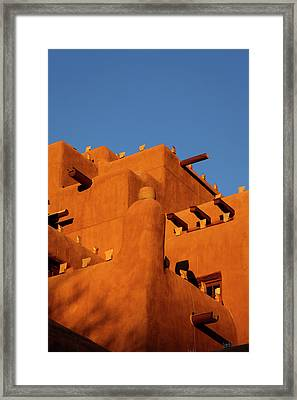 Inn At The Loretto, Santa Fe, New Mexico Framed Print by Julien Mcroberts