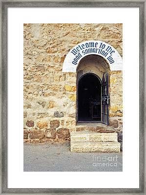 Inn Of The Good Samaritan Framed Print by Thomas R Fletcher