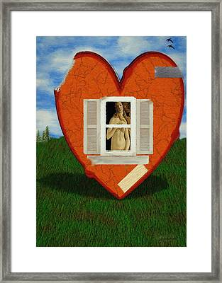 Inner Beauty Framed Print by Jeff Kolker