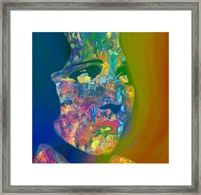 Inner Beauty Pop Art Framed Print by Dan Sproul