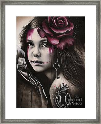 Inner Child Framed Print by Sheena Pike